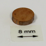 OrigaTip - Copper Sample Pellet ø8x3